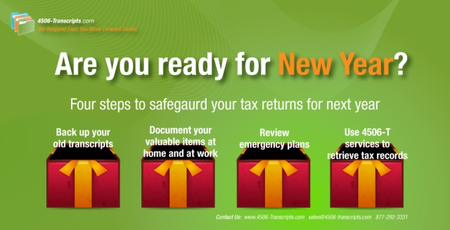 Four steps to safeguard your tax records