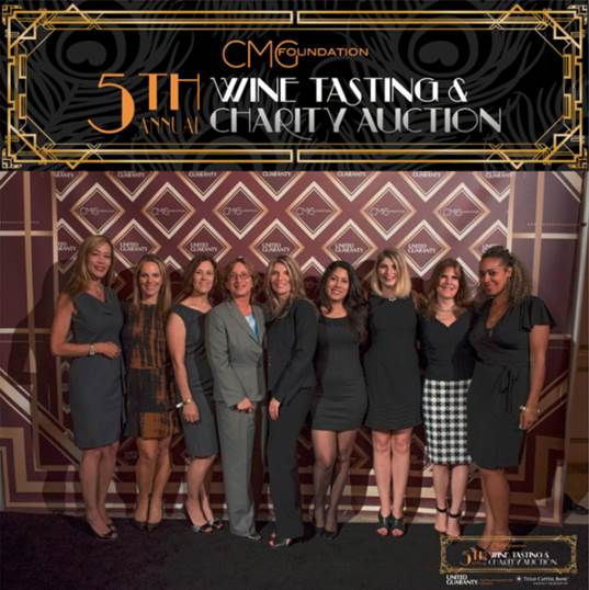 Supporting the CMG Foundation Wine Tasting & Charity Auction Benefit