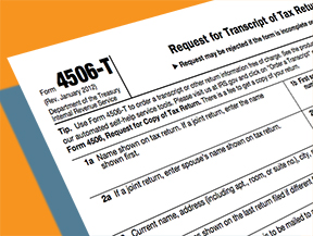 What is the difference between the IRS Form 4506 and the IRS Form 4506-T?